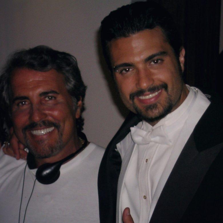Jaime Camil y su padre Jaime Camil Garza