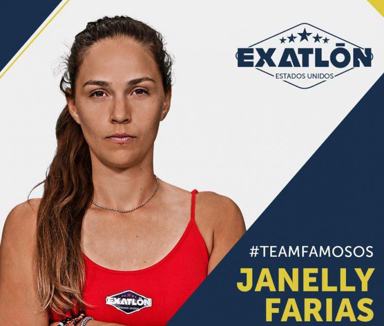 Exatlón -Estados Unidos: Quienes son los concursantes? fotos, Janelly Farias
