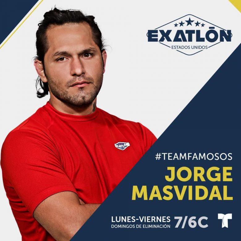 Exatlón -Estados Unidos: Quienes son los concursantes? fotos, participantes, Jorge Masvidal