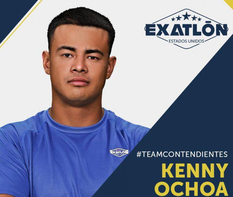 Exatlón -Estados Unidos: Quienes son los concursantes?, fotos, participantes, equipos, Kenny Ochoa