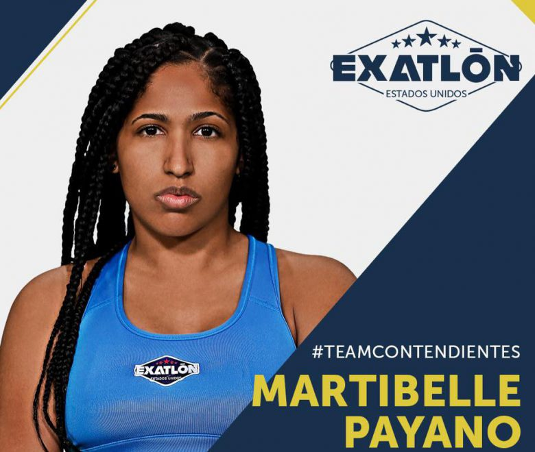 Exatlón -Estados Unidos: Quienes son los concursantes?, fotos, participantes, equipos, Martibelle Payano