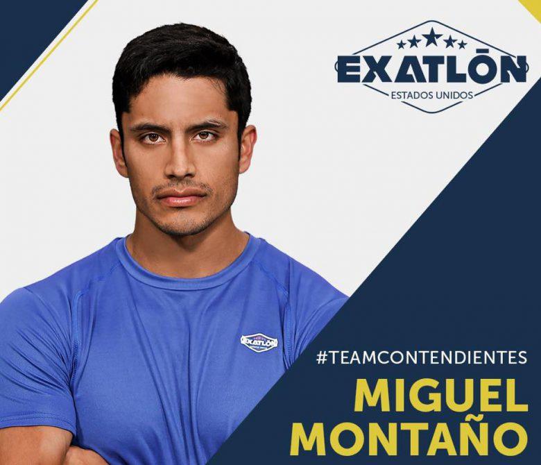 Exatlón -Estados Unidos: Quienes son los concursantes?, fotos, participantes, equipos, Miguel Montaño