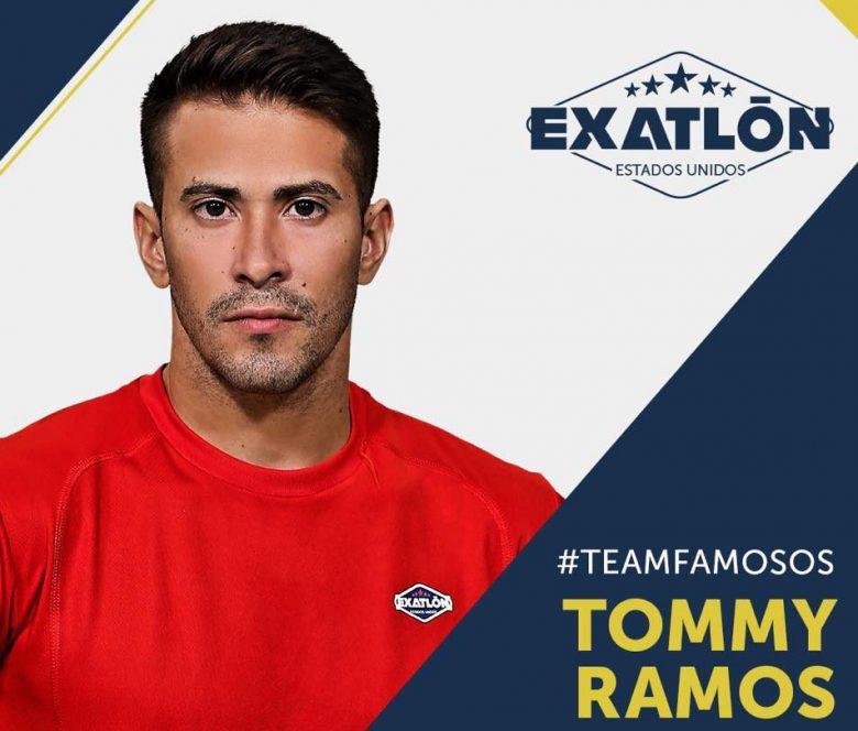 Exatlón -Estados Unidos: Quienes son los concursantes? fotos, Tommy Ramos