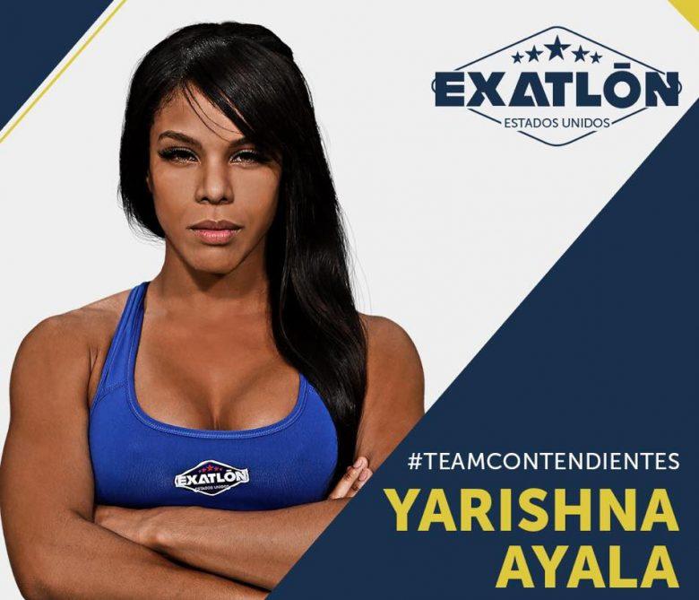 Exatlón -Estados Unidos: Quienes son los concursantes?, fotos, participantes, equipos, Yarishna Ayala