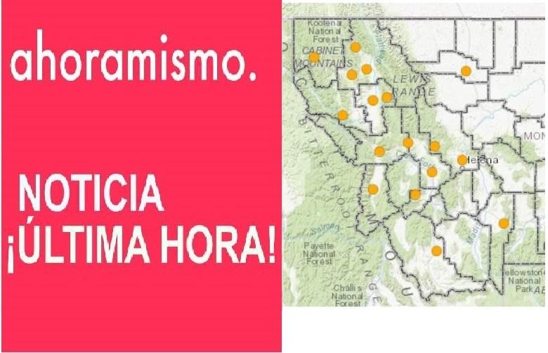 Montana Fire Maps: Track Fires Near Me Right Now [August 10], Mapa de Incendios, cerca de mi,