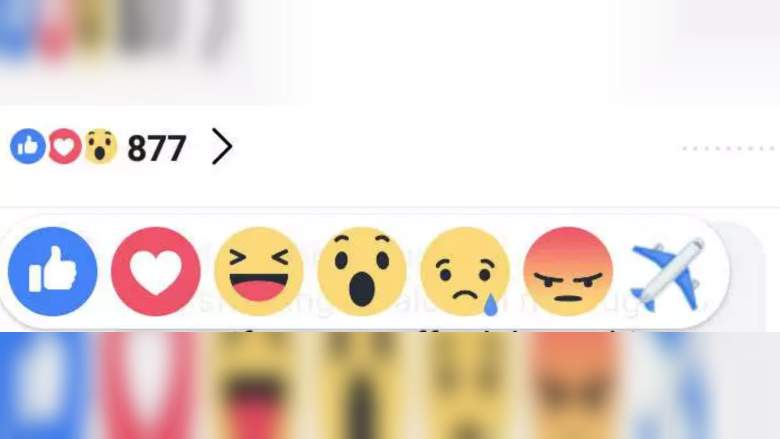 emoji avion facebook