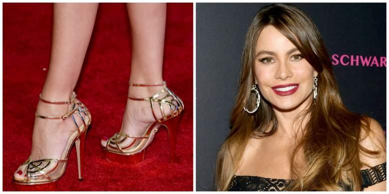 Sofia Vergara, Sofia Vergara Sexy Feet