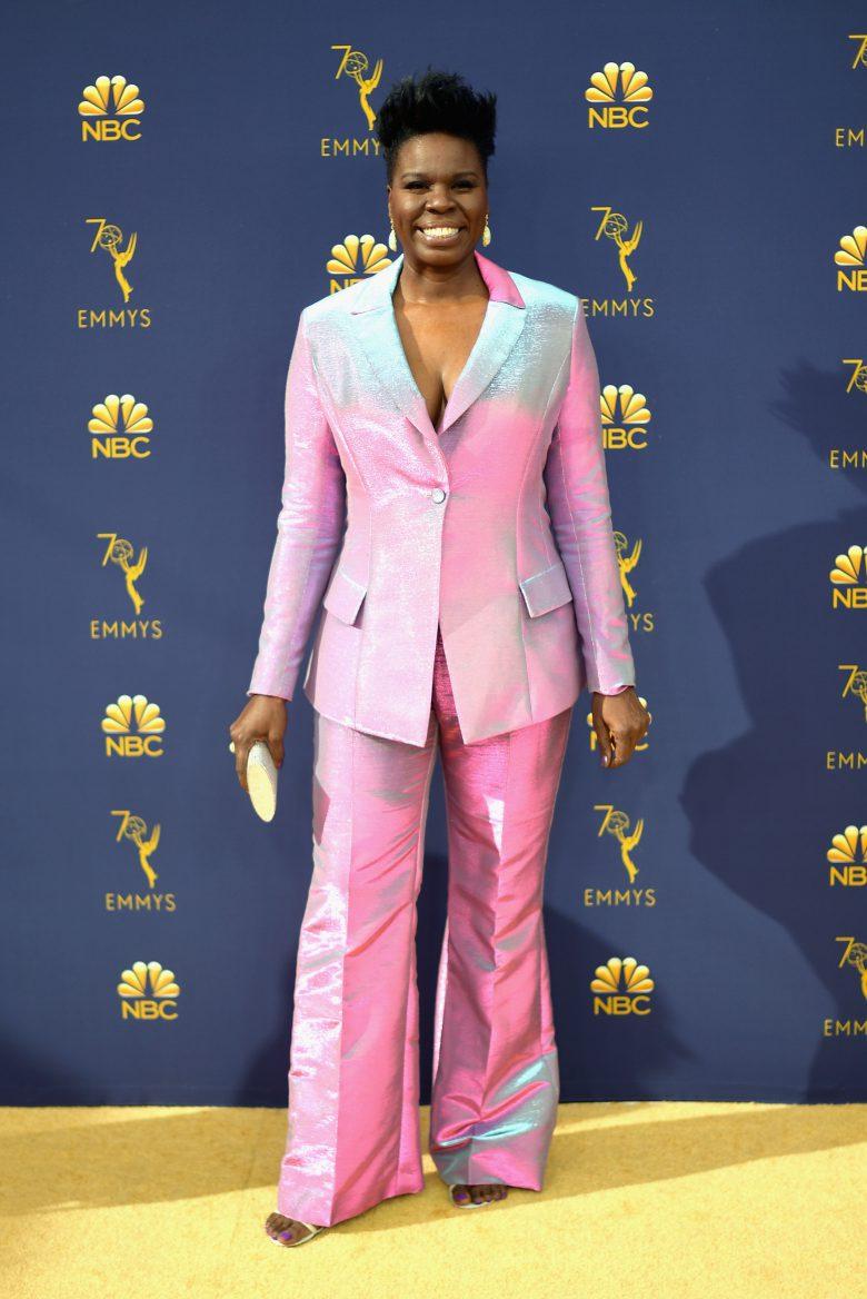 Premios Emmys 2018: Los peores looks de la alfombra roja [FOTOS], peores vestidos,, Leslie Jones