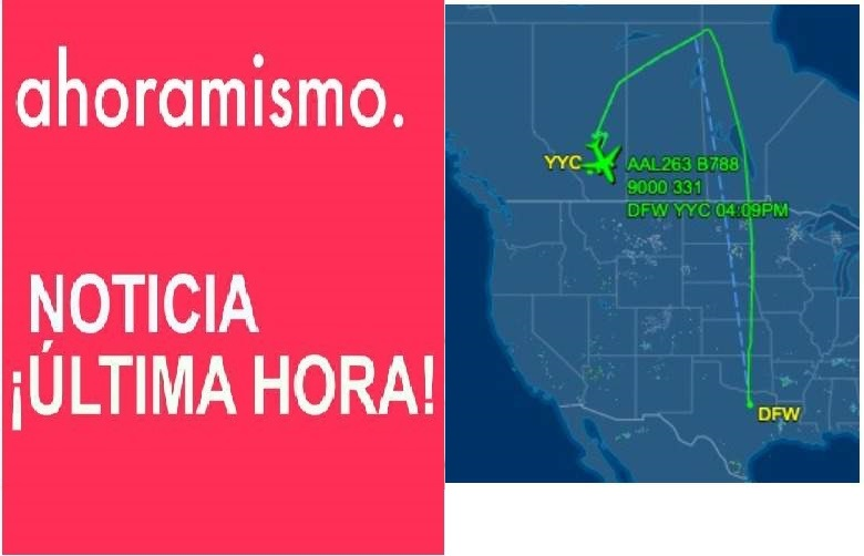 Atterrizaje de emergencia vuelo de American , American Airlines Flight AA263 Diverted Twice for Emergency Landing