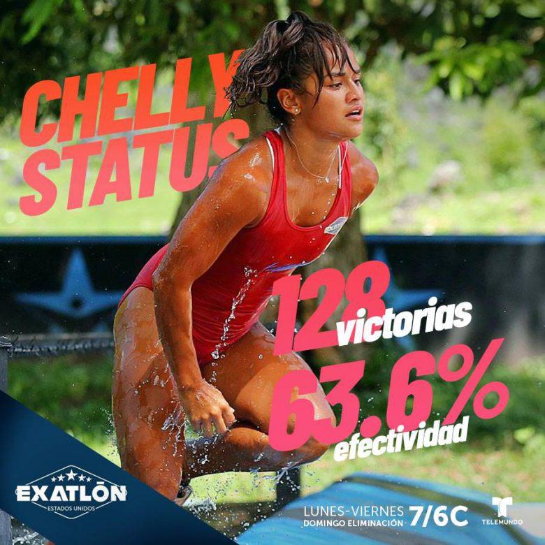 """Marisela Cantú, Chelly, """"EXATLÓN""""-Estados Unidos: ¿Quiénes se pelearán la final?, Semi final, finalista"""