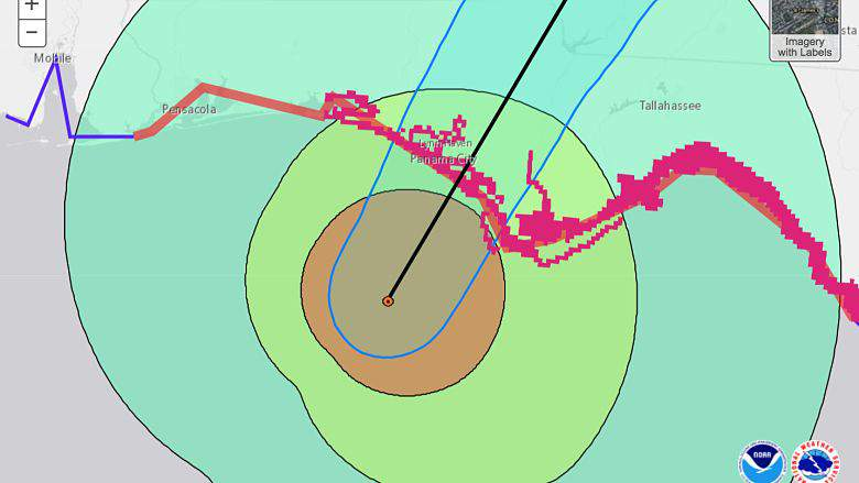 ¿El huracán Michael golpeará Pensacola? Último seguimiento y pronóstico