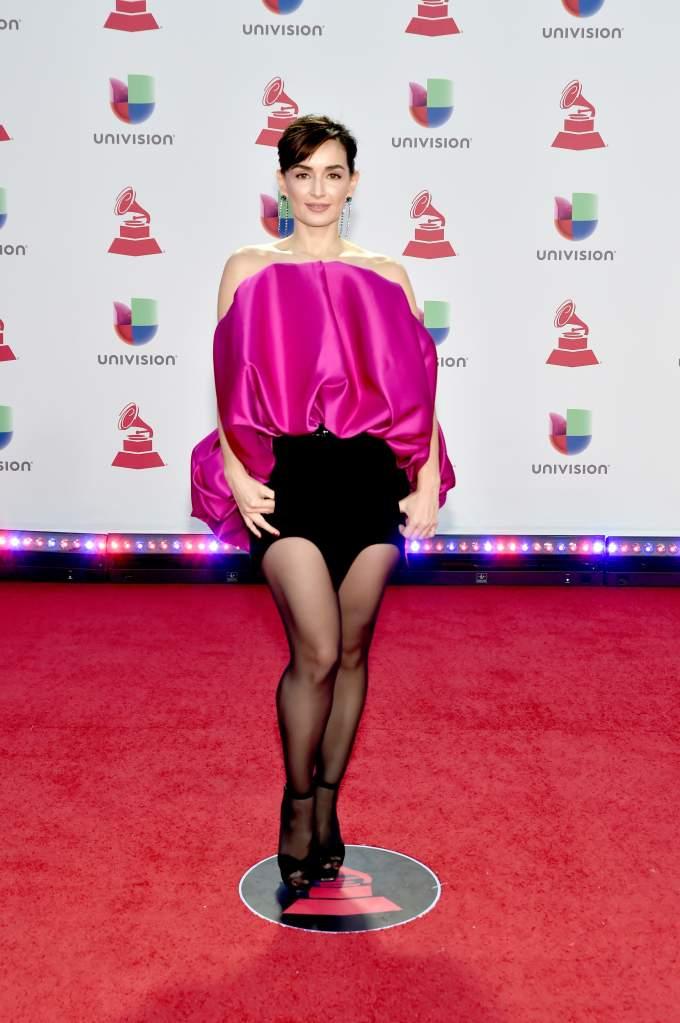 """[FOTOS]""""Latin Grammy 2018"""": Peores looks de la Alfombra, peores vestidos, Ana de la Reguera"""