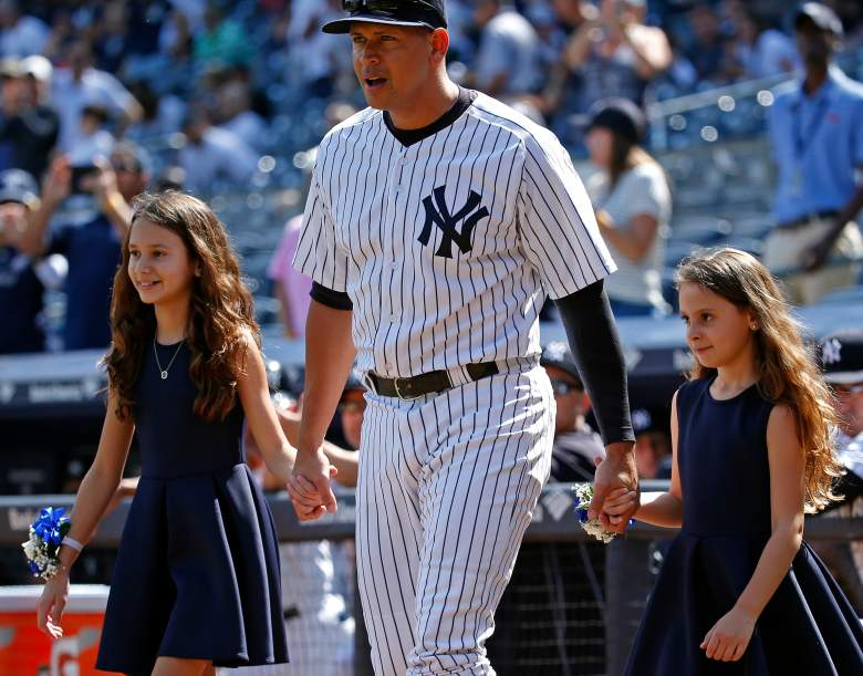 Alex Rodríguez con sus hijas Natasha y Ella, Cuantos hijos tiene ARod