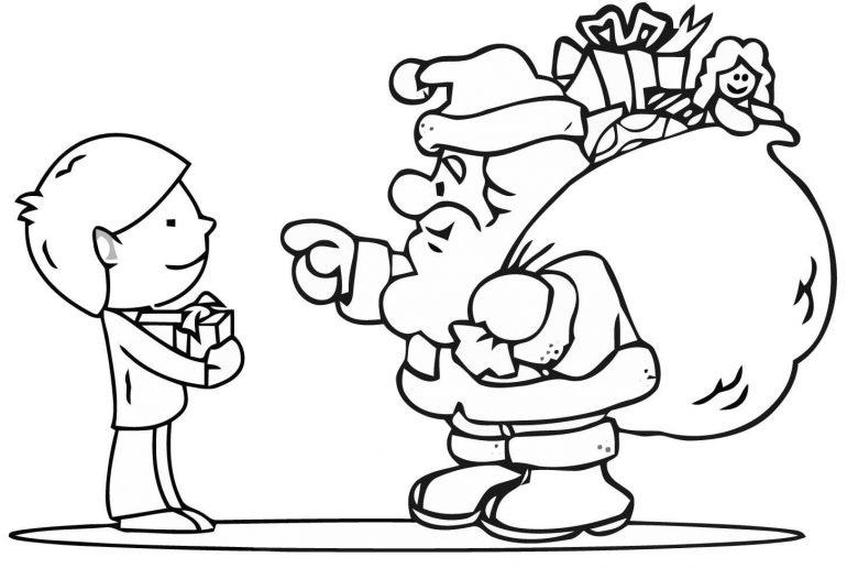 Actividades Imprimibles para Niños en Navidad Papa Noel