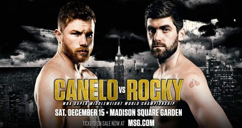 LIVE STREAM-Canelo vs. Rocky en vivo : como ver la pelea gratis