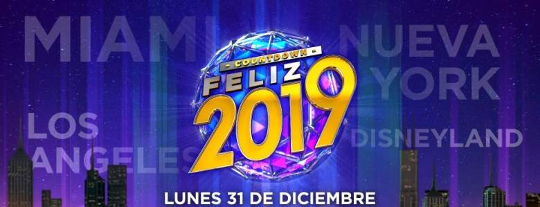 "Especial de Univision ""Countdown Feliz 2019"": Artistas, Hora, Canal, Live Stream"