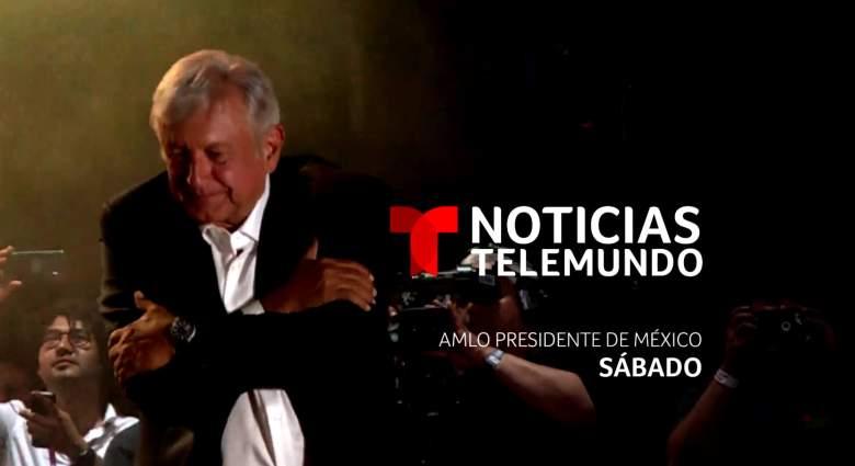 """ESPECIAL Telemundo-""""AMLO Presidente de México"""":¿A qué hora?¿Qué Canal? Live Stream, toma de protesta, posesion, investidura"""