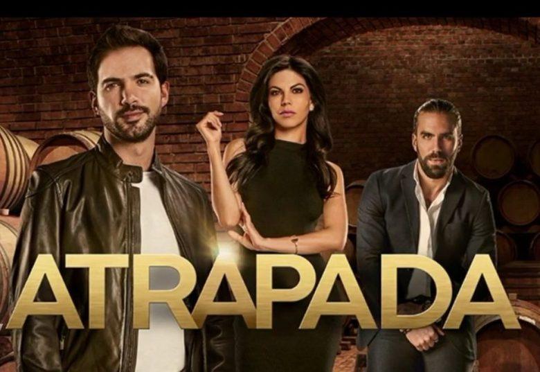 """Novela-""""ATRAPADA"""": ¿A qué hora? ¿Qué Canal? Live Stream, Africa Zabala,"""