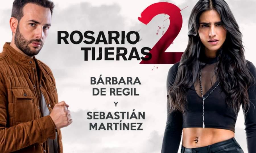 """ELENCO-""""Rosario Tijeras 2"""": Conoce los actores y personajes [FOTOS], reparto, Barbara de Regil y Sebastián-martinez Roasrio Tijeras 2"""