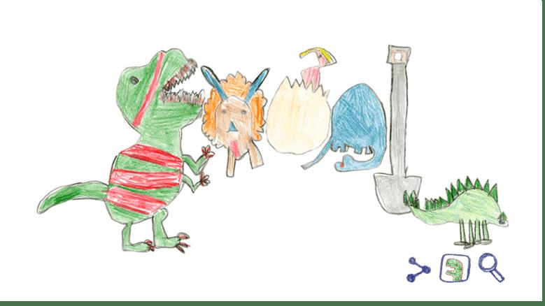 Quién diseño el Google Doodle de Hoy?Dino Doodle de Google: Lo que tienes que saber,