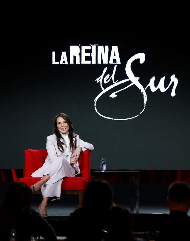 """Kate del Castillo hablando de Teresa Mendoza """"La Reina del Sur"""""""