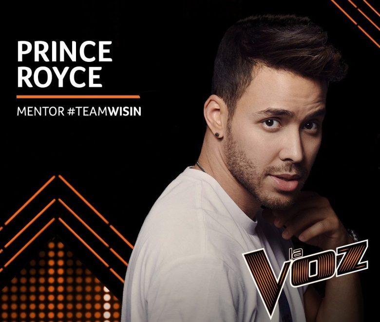 Prince Royce mentor Team Wisin en La Voz Telemundo