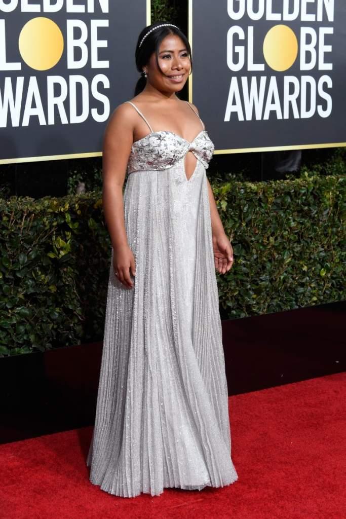 FOTOS-Golden Globes 2019: Peores looks de la alfombra roja, Peores vestidos, Yalitza Aparicio
