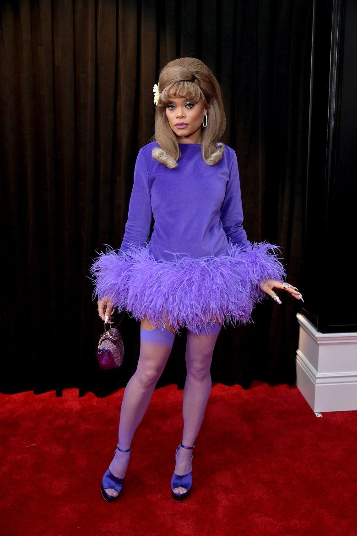 [FOTOS] Grammy 2019: Peores looks de la Alfombra Roja, perores vestidos, Andra Day