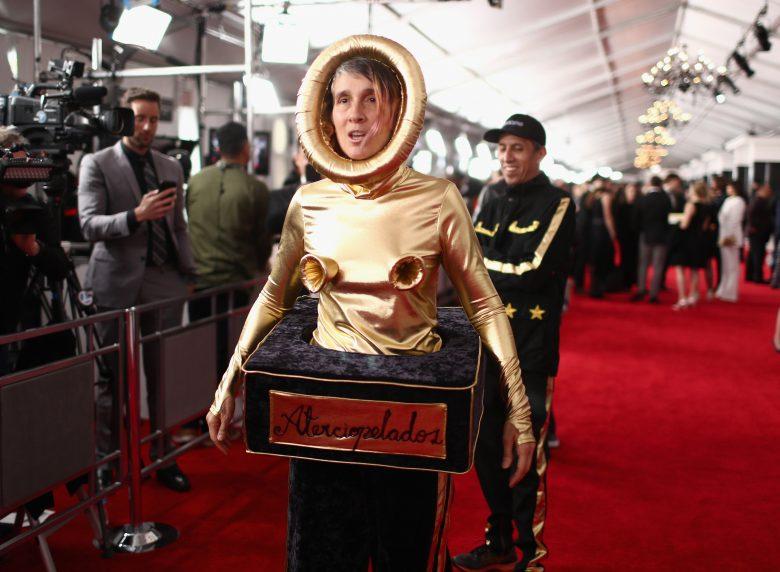 [FOTOS] Grammy 2019: Peores looks de la Alfombra Roja, perores vestidos , Andrea Echevarry de Aterciopelados