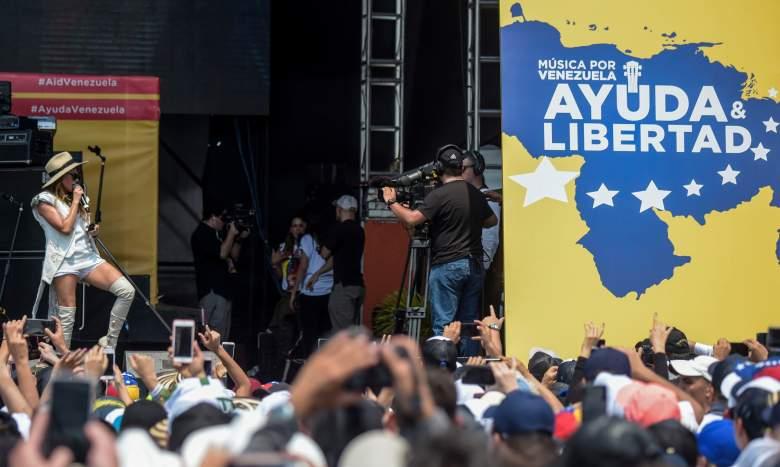 Lista de artistas Venezuela Aid Live