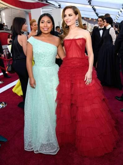 Yalitza Aparicio y Marina de Tavira Oscars