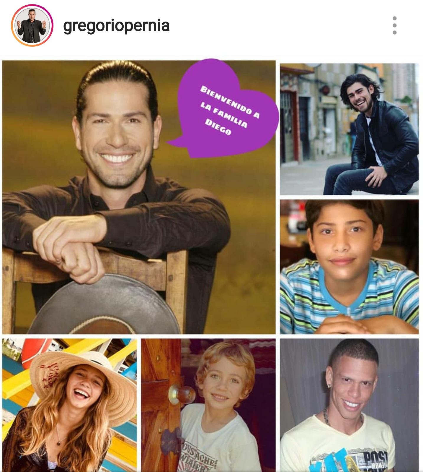 ¿Cuántos hijos tiene Gregorio Pernía?