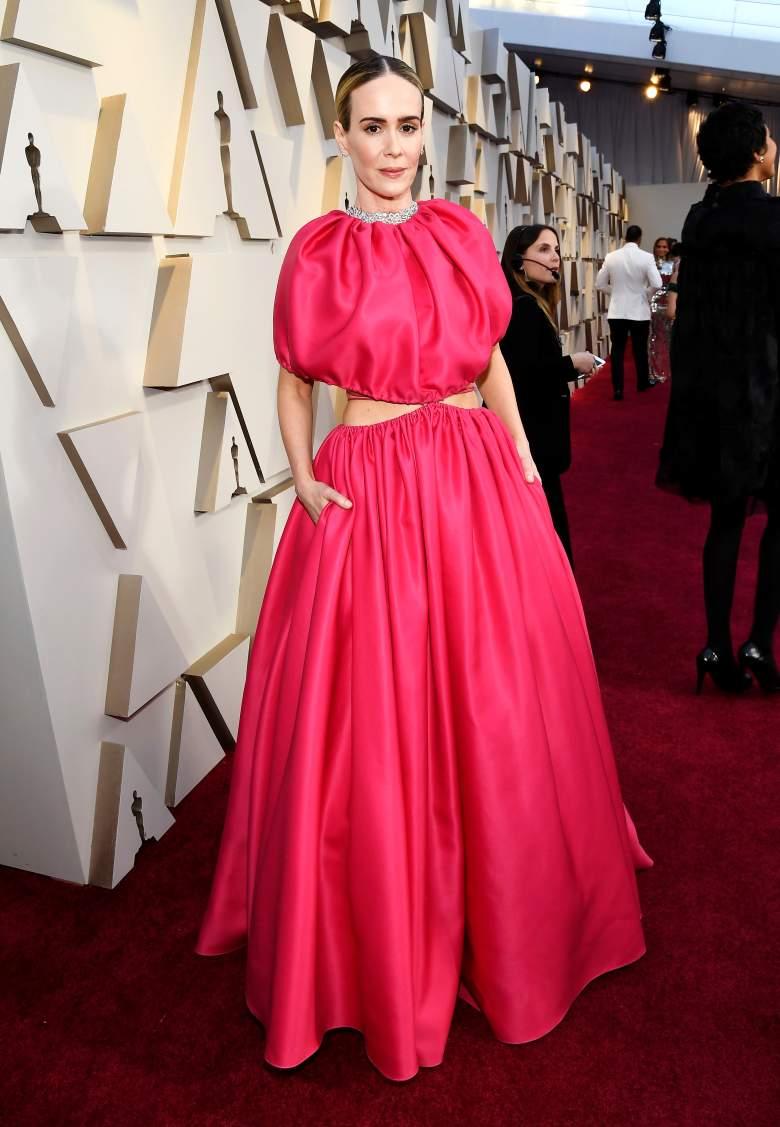 [FOTOS] Oscar 2019: Los peores looks de la Alfombra Roja, peores vestidos, Sarah Paulson
