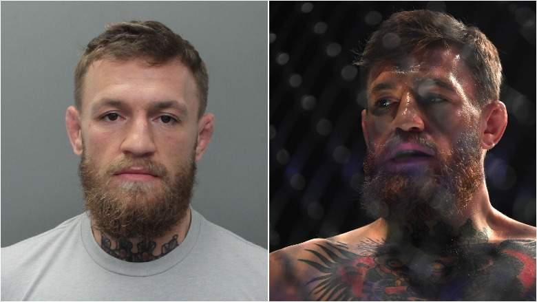 Conor McGregor fue arrestado por robarse un celular en Miami