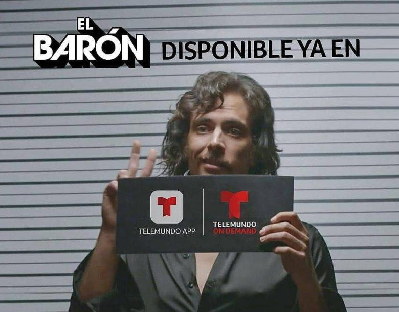 ¿A qué hora cambiaron la serie El Baron de Telemundo? Nuevo horario, donde ver el Baron