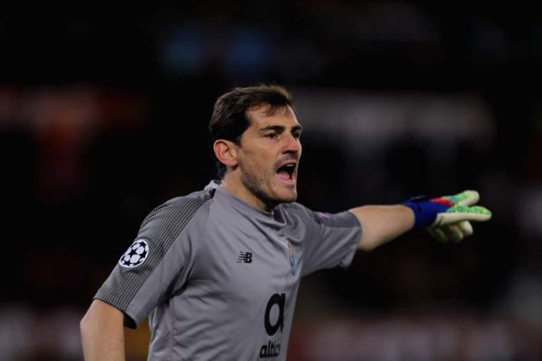 Iker Casillas tuvo un infarto
