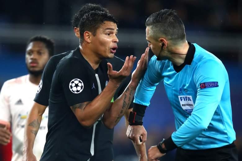El Paris Saint Germain quedó fuera de la Champions
