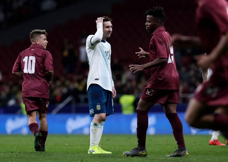 La tristeza de Messi por la derrota de Argentina