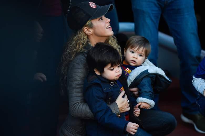 Los hijos de Shakira estan enormes