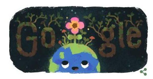 Google Doodle Equinoccio Primavera 2019