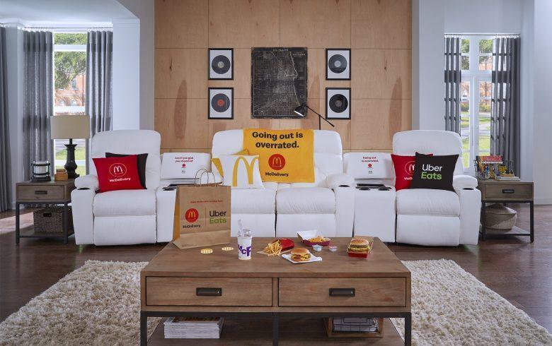 ¿Cómo ganarse este cómodo sofáde McDonald's? concurso, cadena de cómida rápida,
