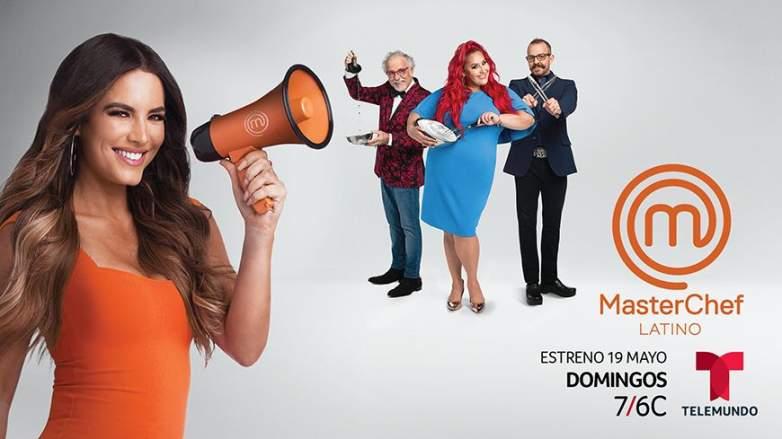 Gaby Espino es la nueva presentadora de MasterChef Latino 2 ¿Por qué?