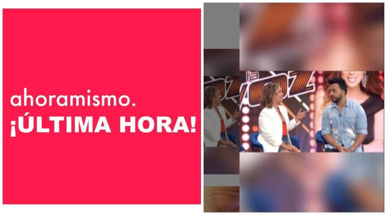"""VIDEO: Luis Fonsi y Adamari López se abrazan en """"Un Nuevo Día"""""""