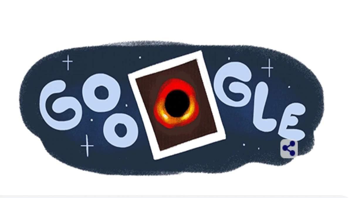 Google Doodle Black Hole