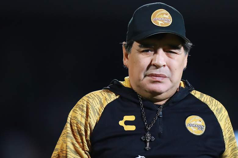 Maradona esta de luto