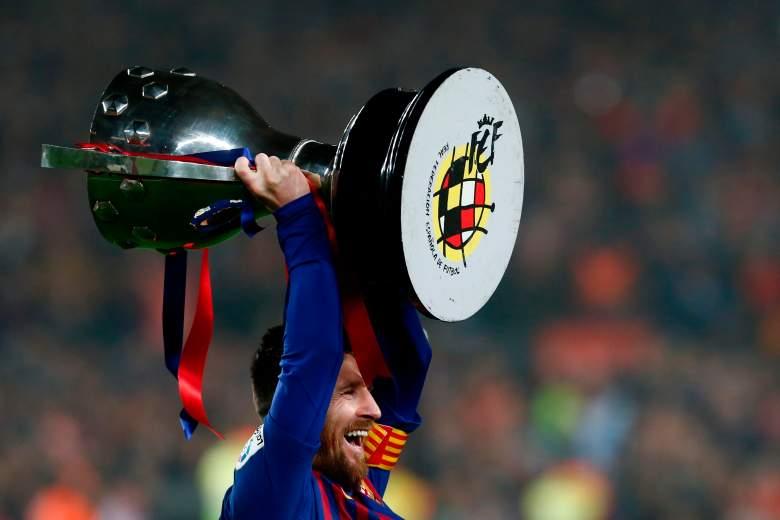 ¿Cómo festejó Messi el triunfo del Barcelona en la Liga española?