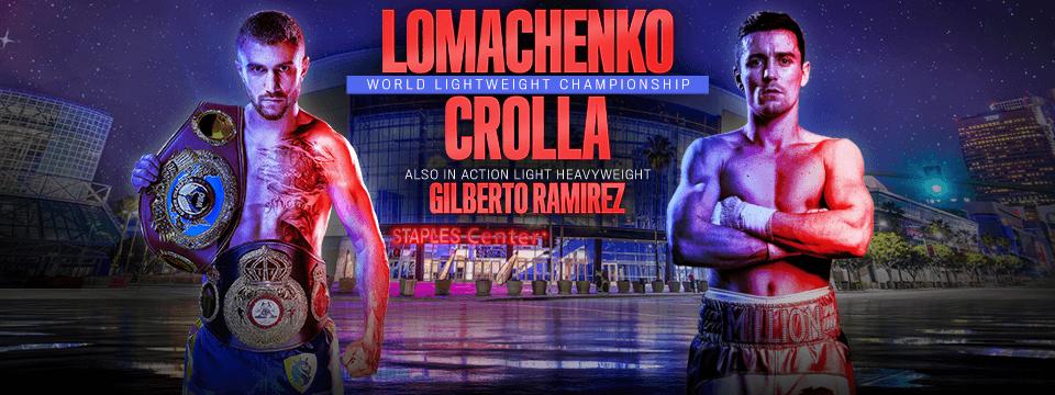 Pelea: Vasyl Lomachenko vs Anthony Crolla