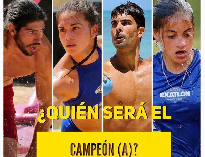 EXATLÓN-Estados Unidos 2: ¿Quiénes son los finalistas? [FOTOS], Hacobo Gracia, Andoni GArcia, Dennhi Callu, VAleria Sofia Rodriguez