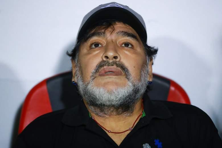 Maradona esta cada vez mas gordo