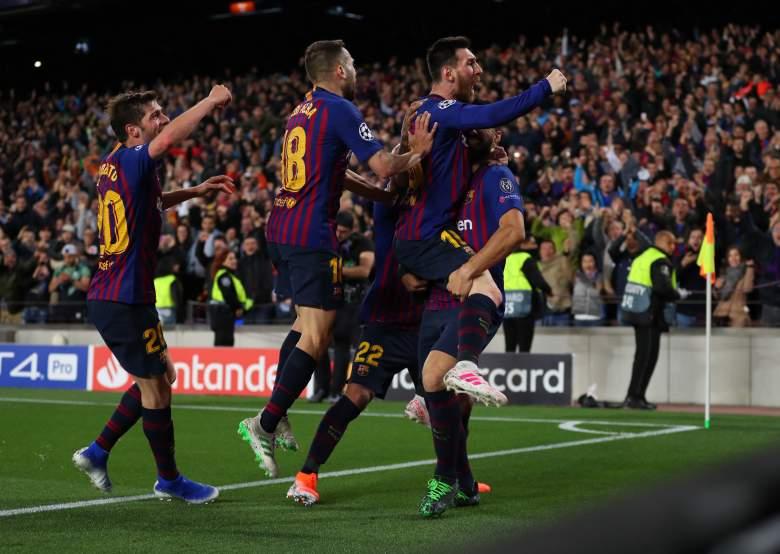 ¿Quién hizo los goles en el partido del Barcelona contra Liverpool?